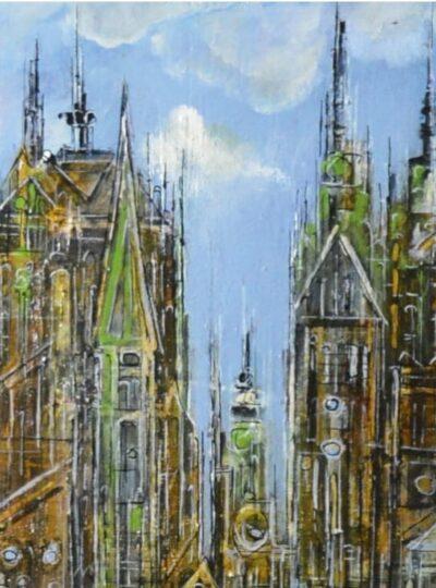 Gabriela Trynkler – wystawa malarstwa, rysunku, grafiki